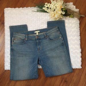 Eileen Fisher Organic Cotton Boyfriend jeans sz 8